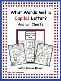 Capital Letter Anchor Chart Capital Letter Anchor Chart Worksheets Teaching Resources