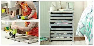 diy crate furniture nightstand with drawers this beautiful nightstand is simply two crates built into a frame with wood slides
