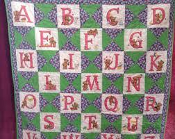 Abc quilt | Etsy & ABC Quilt Adamdwight.com