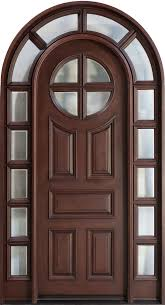 mahogany solid wood front entry door single with 2 sidelites front house door texture t39 texture