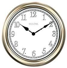 bulova wall clocks pendulum light time clock traditional with p