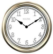 bulova wall clocks pendulum light time clock traditional with p