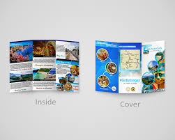 Travel Brochure Cover Design Proposed Travel Brochure For Batangas Philippines On