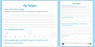 Case File Template Goals Targets Young People Families Case File Recording
