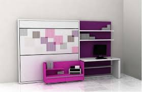 contemporary furniture for small spaces. furniture cool modern for small space design ideas with white rectangle computer desk and wall book shelves plus purple painted contemporary spaces