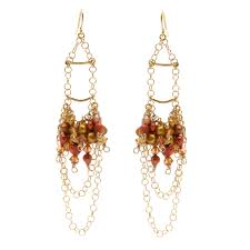 autumn elegance earrings by beadaholique com