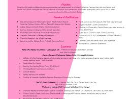 Cover Letter Cosmetologist Student Resume For Photo Examples