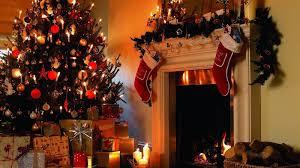 christmas tree wallpaper backgrounds desktop. Christmas Tree And Fireplace Wallpaper Nature Green Merry Free Desktop Animated Intended Backgrounds
