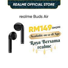 <b>realme Buds Air</b> (1 Year Warranty) - Wireless Charging, Super Low ...