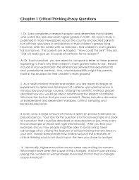 critical thinking essay sample critical thinking essay sample writing