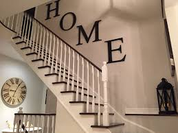 Modern farmhouse stairway