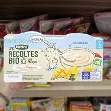 Đồ ăn dặm cho bé] Sữa chua phô mai Bledina Pháp cho bé ăn dặm 6M/ Sữa chua  hữu cơ Bledina Pháp cho bé 6M+ chính hãng 49,999đ