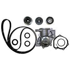 Timing belt water pump kit timing belt tensioner kit optibelt timing belt