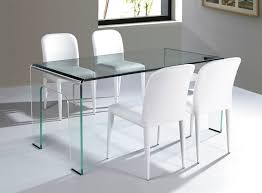 Cristallo All Glass Dining Table