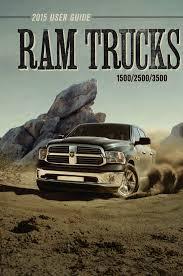2015 RAM 1500/2500/3500/ Truck User's Guide