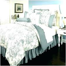 toile comforter set french bedding red sets blue lofty idea quilts black quilt country toile comforter set