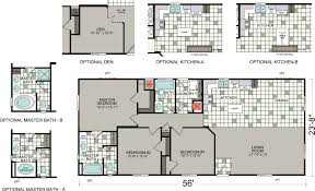 factory homes california silvercrest bradford bd 07 floor plan