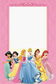 a birthday invitation free printable disney princess birthday invitations template
