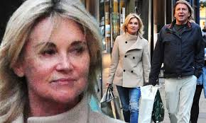 Sitting at my computer with soho the frenchie balancing on my knee, i'm thinking, with the help of a fine red wine, what shall we talk about this week? Anthea Turner 60 Goes Makeup Free As She Hits The Shops With Fiance Mark Armstrong Daily Mail Online