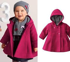 girl coat toddler children solid jacket kids clothes long sleeve hooded girls outwear thicken girls jackets autumn winter baby clothing child winter coat