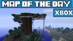 giant tree house  minecraft xbox  map w download  youtube