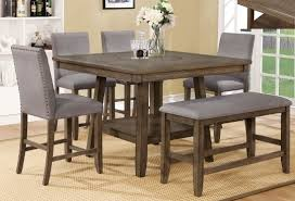 Home / Shop Dining Room Counter Height Manning 5pc. Set   Louisville Overstock Warehouse
