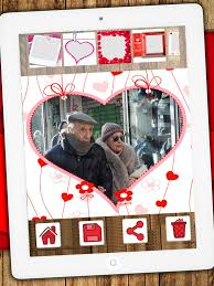 screenshot 2 for editor love frames romantic images to frame your beautiful photos