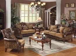 claremore antique living room set. Simple Living Traditional Living Room Furniture Style Formal  Brown Sofa In Claremore Antique Set C