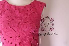 Antonio Melani Cora Chemical Lace Dress Petunia Size 0 2 4 8