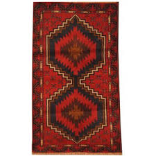 Shop <b>Handmade</b> Herat Oriental Afghan Hand-knotted Tribal ...
