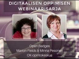 Digitaalisen oppimisen webinaarisarja: Open Badges - YouTube