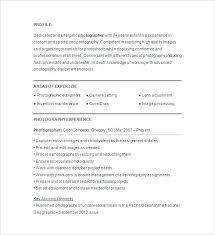 Photographer Resume Sample Photographer Resume Example Photography
