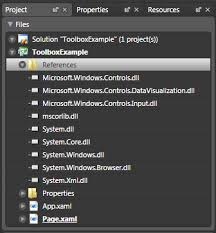 Adding Silverlight Toolkit Controls To The Visual Studio And
