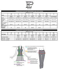 Size Guide Ep Pro Size Guide