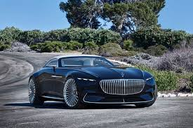 2018 maybach concept. fine 2018 the contrast between the dark blue paintwork in u201cnautical metallicu201d  and chrome highlights organically shaped wings trim  and 2018 maybach concept u
