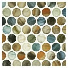round glass tiles glass mosaic silk 2 inch glass tiles for crafts