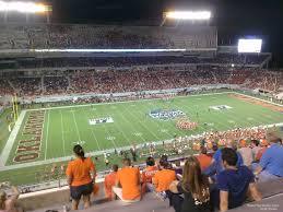 Citrus Bowl Seating Chart Football Camping World Stadium Section 211 Rateyourseats Com