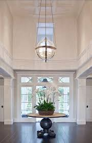 modern entryway lighting. transitional family home with classic interiors modern entryway lighting