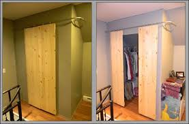 diy tutorial diy closets with sliding barn style doors