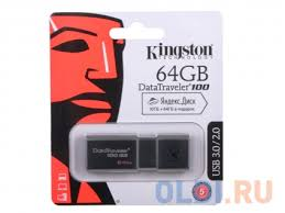<b>USB флешка Kingston</b> DataTraveler <b>DT100G3</b> 64GB Black ...