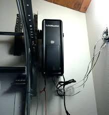 liftmaster 8500 wall mount garage door opener elite battery backup capable wall mount garage door opener