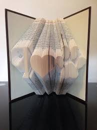 book folding pattern for i heart paw free tutorial by bookfoldingforever
