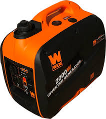 portable generators. WEN 56200i 2000 Watt Portable Generator Left Front Generators