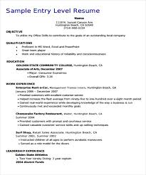 Education On Resume Examples Magnificent 28 Basic Education Resume Templates PDF DOC Free Premium