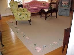 custom sisal rugs hand painted fl sisal rug custom made sisal rugs uk