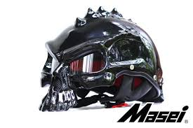 masei newest dual use skull motorcycle helmet capacetes casco