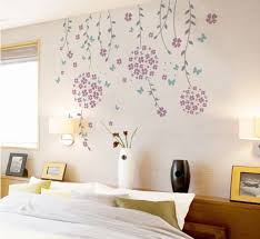 Small Picture Flower Vines And Butterflies Wall Decal Modern Wall Decals