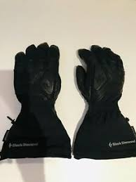 Details About Black Diamond Gore Tex Women S Guide Ski Gloves Size Medium Gloves