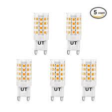Light Bulb Beam Angle Buy Ustellar 5 Pack G9 Led Light Bulbs 50w Halogen Bulbs
