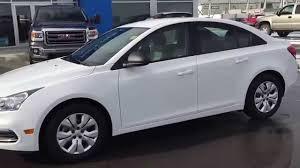 White 2015 Chevrolet Cruze 1LS Sedan at Scougall Motors in Fort ...